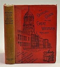 The Official Guide to the Great Western Railway Circa 1898 Book - A compreh