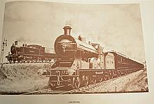 King Steam Book – selected railway paintings and drawings by C. Hamilton El