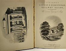 Osborne's London & Birmingham Railway Guide 1840 First Edition. Published b