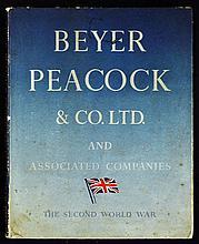 Beyer Peacock & Co. Ltd. War Work Souvenir Publication May 1945 An impressi
