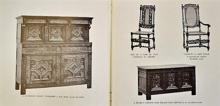 Furniture maple co tottenham court road london catalogu for Furniture tottenham court road