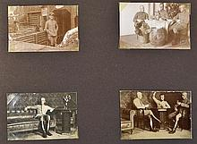 5x Photo Albums relating to the Funck Family 1915-1939 – includes a large s