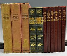 Selection of World War related Books includes The Great World War A History