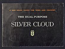 Automotive Rolls Royce 'The Dual Purpose Silver Cloud' 1958 Catalogue an at
