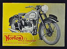 Automotive 'The Unapproachable Norton Dominator' 1949 Catalogue a four-fold