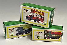 Corgi AEC 508 Forward Control BP 5 Ton Cabover Models includes a Potters As