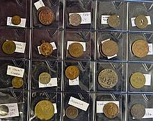 Selection of Tokens and Coins to include 'I Am Your Lucky Star', France's D