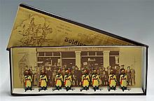 1970s Model Soldiers Type of the 'Colonial Forces' 1880-1914 Lead Figures m