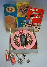 Tala Icing Set to consist of syringe, tubes, turntable and icing book, appe