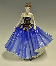 Royal Doulton Bone China Classics 'Abigail' Royal Doulton Lady of the Year
