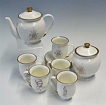 Countess Grey Bergamot Tea Set 'The Countess Grey Collection' consisting of