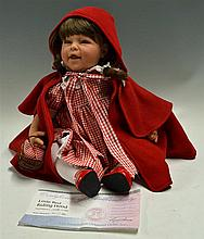 Lee Middleton Little Red Riding Doll: 22 Inch doll complete with original c