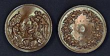 International Exhibition 1862 very large impressive Medallions in two halve
