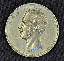 1851 The Great Exhibition Crystal Palace Medallion the obverse Portrait of