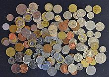 Assorted Selection of Coins including British, European, modern pieces mixe