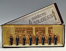 1970s Model Soldiers Type of the 'Rifle Regiments' 1880-1914 Lead Figures m