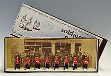 1970s Model Soldiers Type of the 'Line Infantry' 1880-1914 Lead Figures mad
