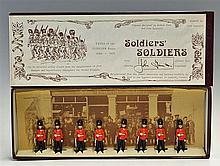 1970s Model Soldiers Type of the 'Fusilier Regiments' 1880-1914 Lead Figure