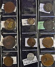 Mixed Selection of Tokens and Coins to include 1935 Jubilee Silver commemor