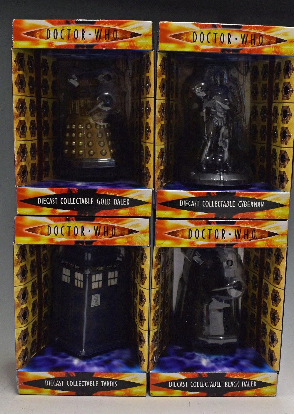Doctor Who Die Cast Dalek Black