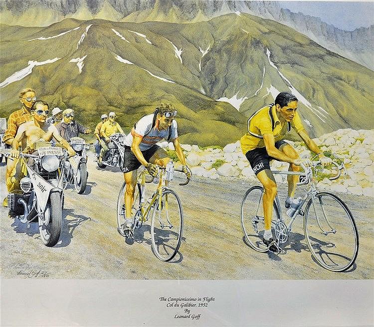 1952 Tour De France Cycle Race...