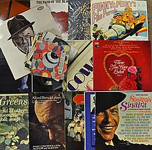 Collection of Vinyl Records to include Frank Sinat