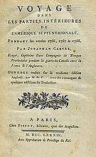 1784 Voyage Dans Les Parties Intérieures de l'Amér
