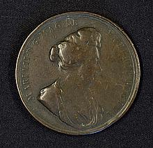 1694 Death of Queen Mary Medallion the obverse Por