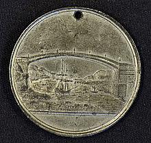 1816 Sunderland Bridge Lottery Medallion issued to