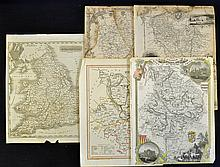 Selection of Mid-19th Century Maps to include Engl