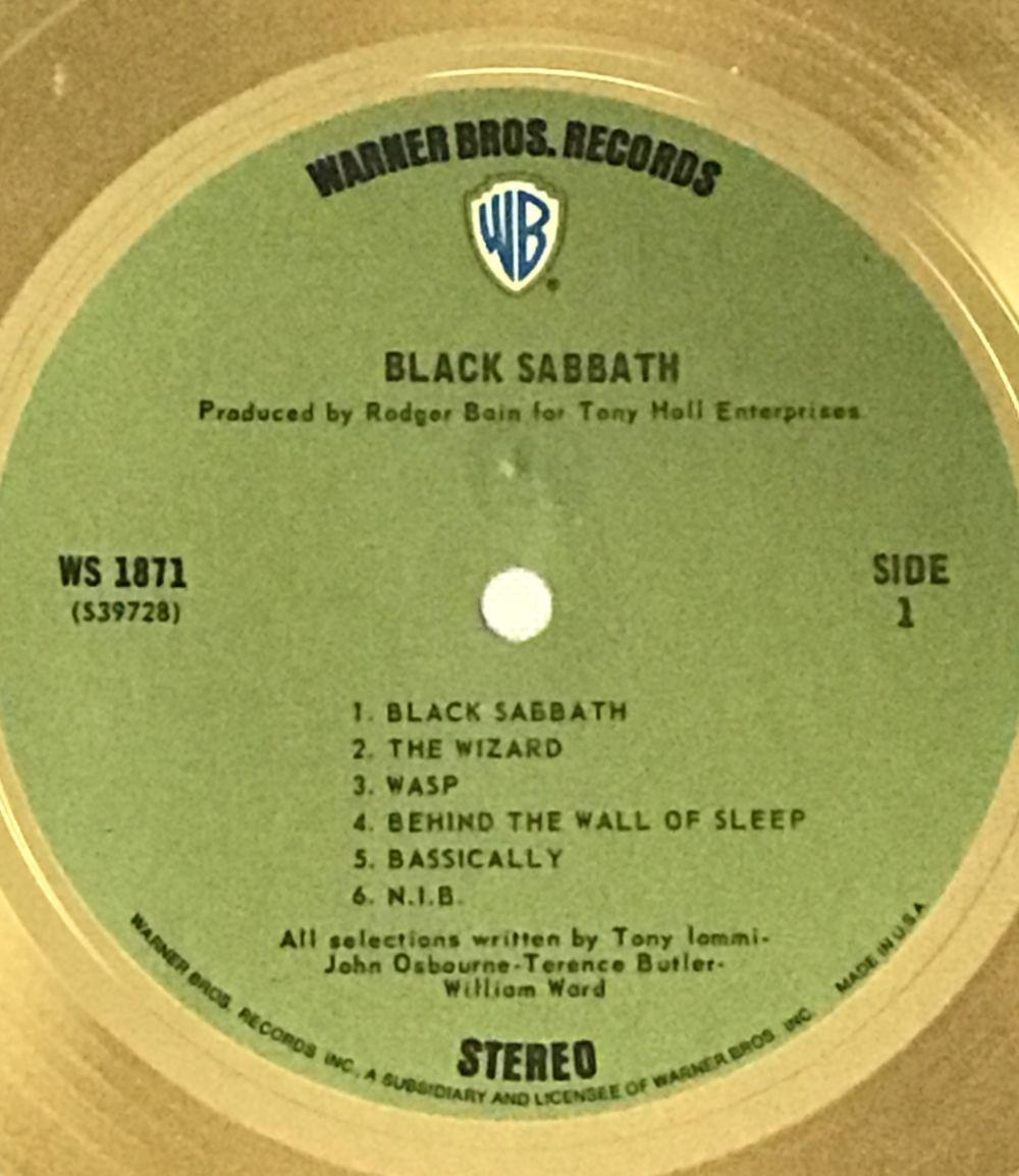 signiert Black Sabbath Mini-Disc