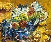 Andor Basch (1885-1944) Fruit still life, 1937 Oil, wood, 46x55 cm Signed bottom left: Basch 37 Starting price: E380 000 Ft