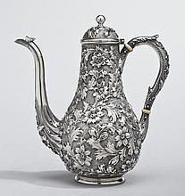 Sterling Baltimore Ritter & Sullivan Coffee Pot