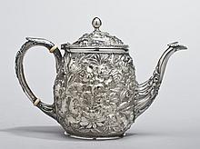 Sterling Silver Baltimore Ritter &Sullivan; Teapot