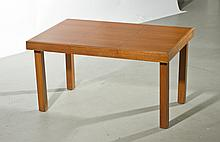 George Nelson Walnut Extending Dining Table