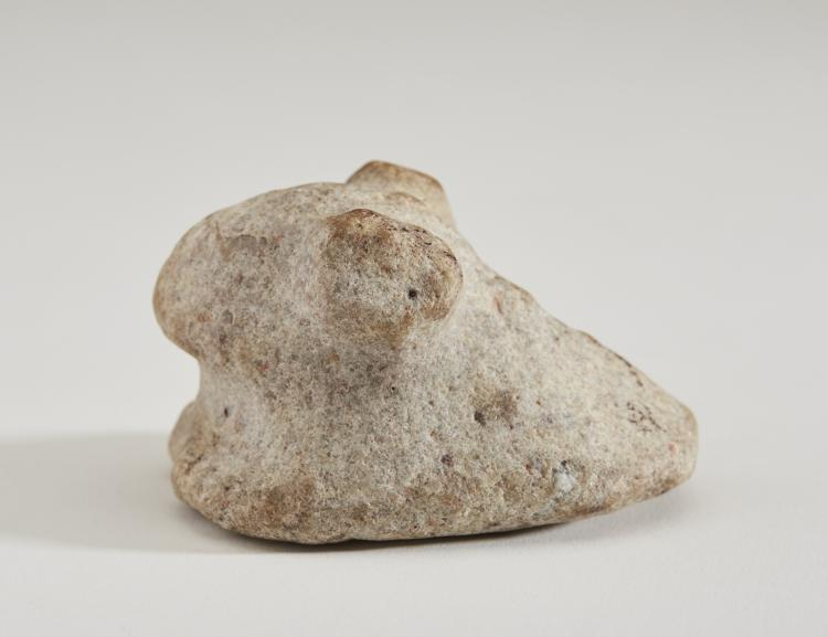 Native american indian miami co ohio bird stone artifact
