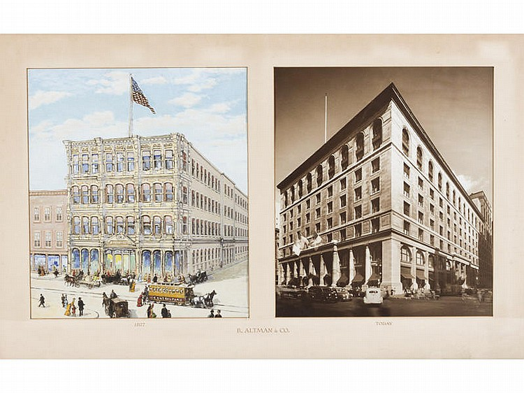 CONDIE LAMB  - B. ALTMAN & CO Department Store NY