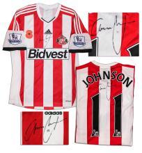 Adam Johnson Match Worn Sunderland Shirt Signed COA a56c91ac0