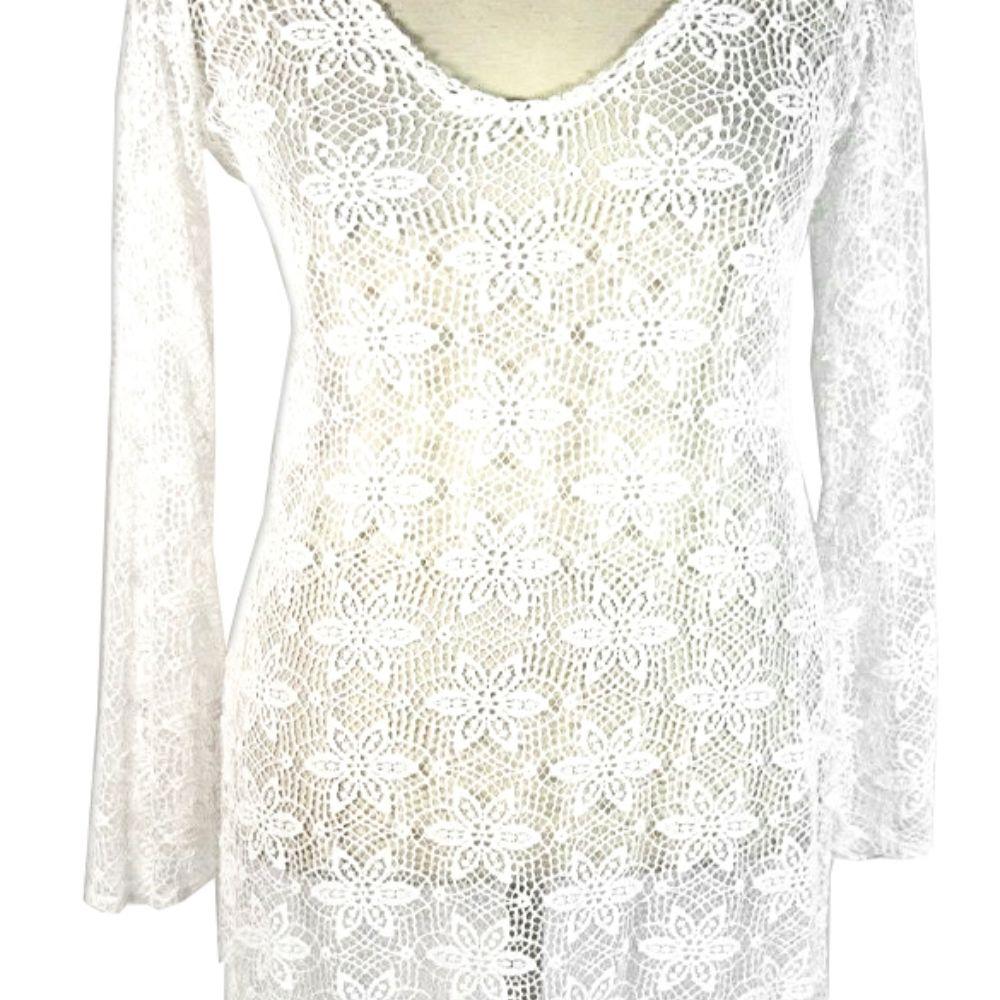 Kourtney Kardashian Owned Crochet Maternity Dress
