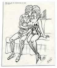 Captioned Bill Ward Cartoons