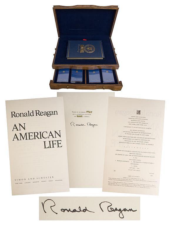 Ronald Reagan Signed An American Life