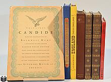 7V Folio Society SPECIAL & DELUXE EDITION LITERATURE &  HISTORY Limited Editions Club Spanish Armada La Fontaine Fables England Candide Rockwell Kent Voltaire Royal Favourites Recipes Satyricon Cookbook Dust Jackets