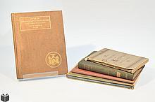 5V New York Veterans ANTIQUE CIVIL WAR HISTORY Lincoln Vast Future Presentation Copy Ballad North South Music Gettysburg German Koniggratz War Fold-Out Map Excise Tax Decorative