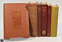 6V Germany Austria DECORATIVE ANTIQUE HISTORY P T Barnum Francois Villon Middle Ages Gozzi Vogue Luther Charles V Ancient Epitaphs Plates