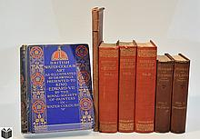 7V London Churches DECORATIVE ANTIQUE HISTORY OF BRITAIN Samuel Johnson Watercolor Art King Edward VII Royal Society Of Painters Liverpool