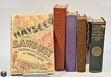 6V Appalachia Medicine VINTAGE & ANTIQUE HISTORY OF NEW ENGLAND THE COLONIES & THE NORTHEAST UNITED STATES Concord St Matthew's Philadelphia Brook New Jersey York Dust Jackets Decorative Church