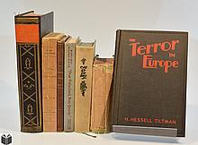 7V Signed Von Hindenburg ANTIQUE HISTORY Tiltman Terror Bourke-White Fatherland Hitler  German Language Das Olympia Buch Maps Tipped-In Plates
