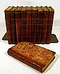 10V THE WORKS OF SAMUEL JOHNSON 1818 Antique English Literature In Decorative Leather Binding Reynolds Portrait Poetry Essays Literary Criticism
