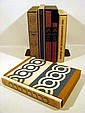 6V Limited Editions Club Proust Swann's Way Flaubert Salammbo FRENCH LITERATURE Baudelaire Flowers Of Evil Stendhal Charterhouse Of Parma