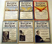 Lot 3143: 24 Issues ANTIQUE MAGAZINES Early 20th Century St Nicholas American Review of Reviews Albert Shaw Everybody's Magazine